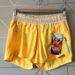 NWT Run Track Attack Shorts Seawheeze 8